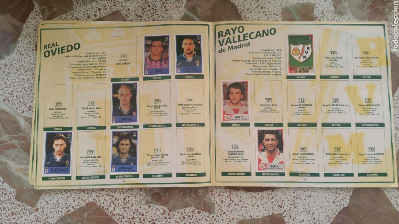 Coleccionismo deportivo: Album cromos fútbol liga 96 97 bollycao incompleto - Foto 10 - 130977599