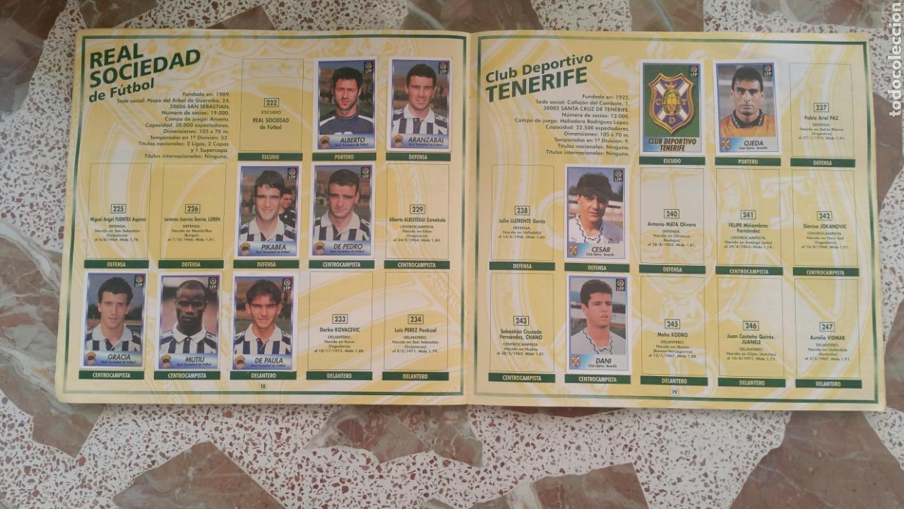 Coleccionismo deportivo: Album cromos fútbol liga 96 97 bollycao incompleto - Foto 12 - 130977599