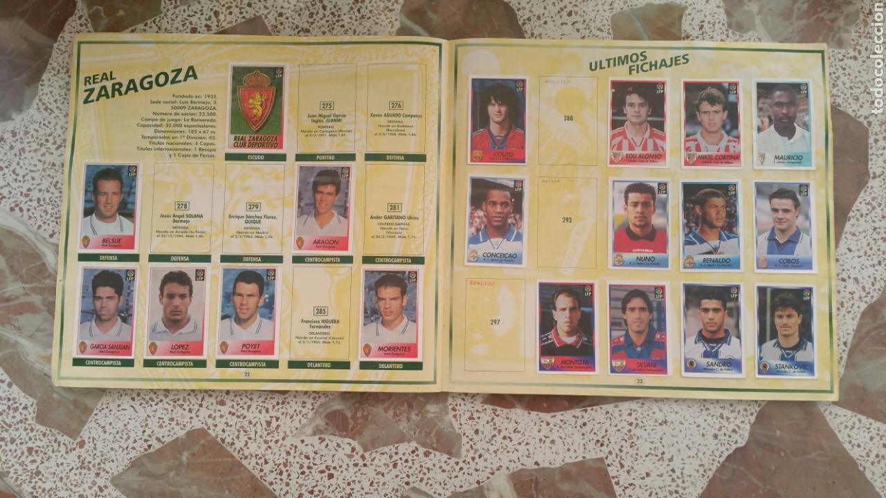 Coleccionismo deportivo: Album cromos fútbol liga 96 97 bollycao incompleto - Foto 14 - 130977599