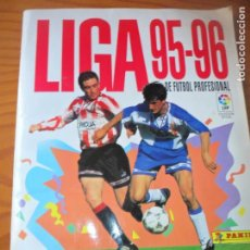 Coleccionismo deportivo: LIGA 1995-96- CONTIENE 257 CROMOS - 95-96 PANINI- . Lote 131682702