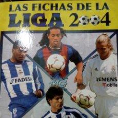 Coleccionismo deportivo: ALBUM ARCHIVADOR VACIO MUNDICROMO FICHAS DE LA LIGA 2003 2004 03 04. Lote 143152984