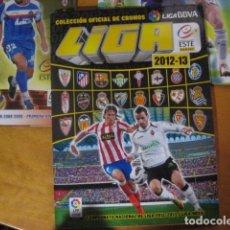 Coleccionismo deportivo: ALBUM FUTBOL LIGA 2012-2013 / 12-13 A FALTA DE 60 CROMOS. Lote 132475306