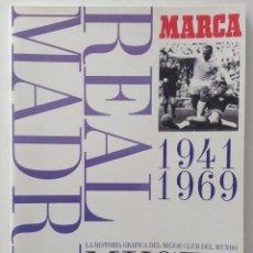 Coleccionismo deportivo: REAL MADRID MUSEO BLANCO 1941. 1969 BERNABÉU INTERCONTINENTAL. Lote 134025301