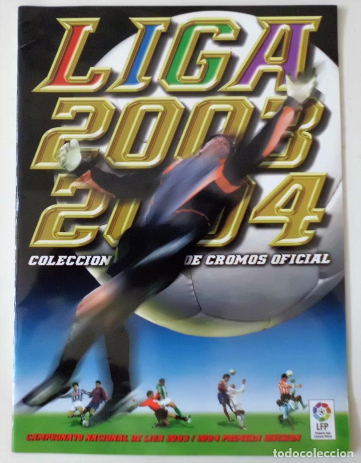 ALBUM PLANCHA NUEVO 03 04 ESTE 2003 2004 (Coleccionismo Deportivo - Álbumes y Cromos de Deportes - Álbumes de Fútbol Incompletos)