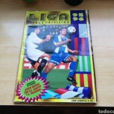 Coleccionismo deportivo: ÁLBUM DE LA LIGA ESPAÑOLA DE FÚTBOL. TEMPORADA 1995-96. INCLUYE ALBACETE Y VALLADOLID. 345 CROMOS. Lote 132539363