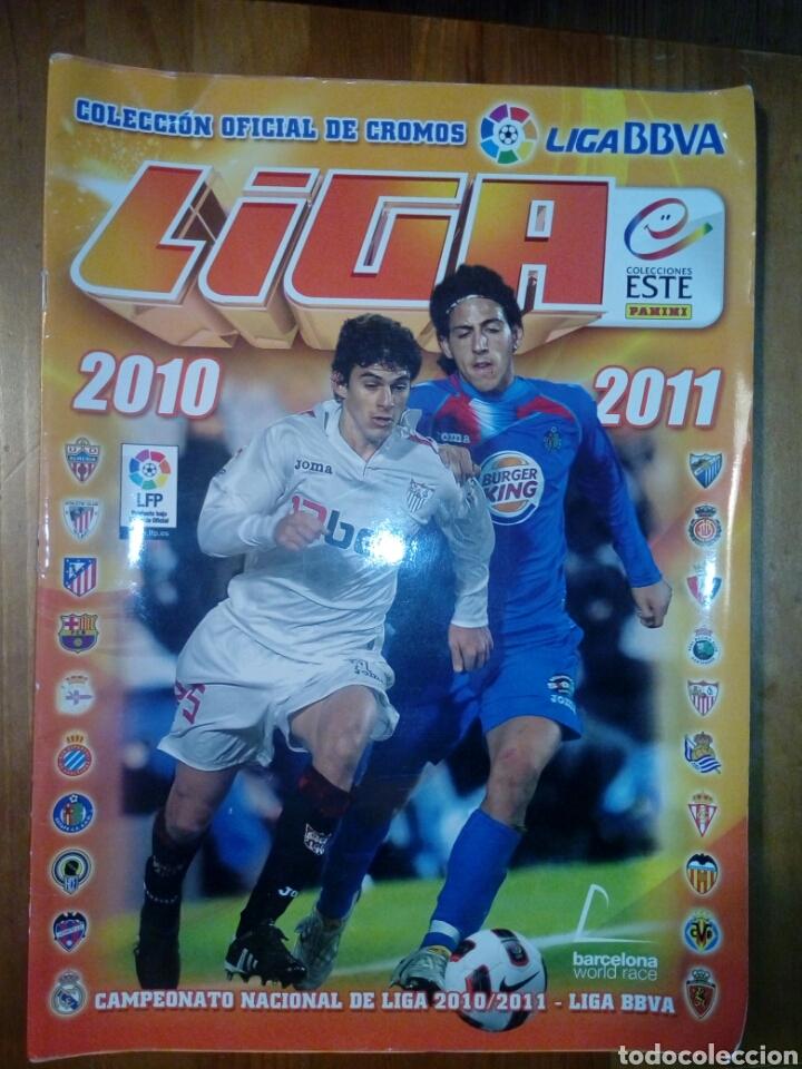 ALBUM CROMOS FÚTBOL LIGA BBVA 2010 2011 TIENE MÁS DE 340 CROMOS (Coleccionismo Deportivo - Álbumes y Cromos de Deportes - Álbumes de Fútbol Incompletos)