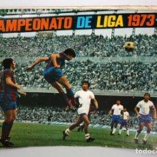Coleccionismo deportivo: ALBUM CAMPEONATO DE LIGA 1973-74 FHER DISGRA.. Lote 132614542