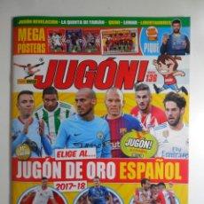 Coleccionismo deportivo: REVISTA JUGON Nº 136 . Lote 132742898