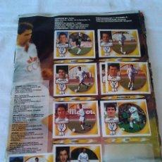 Coleccionismo deportivo: 113-ALBUM CROMOS FUTBOL, LIGA ESTE 94/95, INCOMPLETO. Lote 132951182