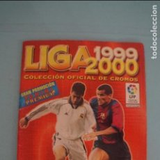 Coleccionismo deportivo: ÁLBUM INCOMPLETO DE FÚTBOL LIGA PANINI 1999-2000/99-00. Lote 132988822