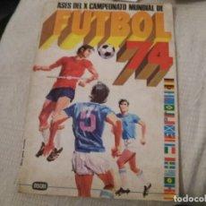 Coleccionismo deportivo: ALBUM ASES DEL X MUNDIAL ALEMANIA FUTBOL 74 DISGRA FHER CASI PLANCHA VACÍO BASTANTE NUEVO. LEER. Lote 133050430