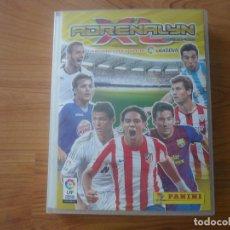 Coleccionismo deportivo: ALBUM ARCHIVADOR FUTBOL ADRENALYN XL 2011 2012 PANINI CON 511 CROMOS DIFERENTES - LIGA 11 12. Lote 133462766