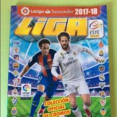 Coleccionismo deportivo: ESTE 2017-2018- ÁLBUM VACIO PLANCHA. Lote 133473346