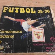 Coleccionismo deportivo: FÚTBOL 75 76 VULCANO, CASI COMPLETO.. Lote 133543082