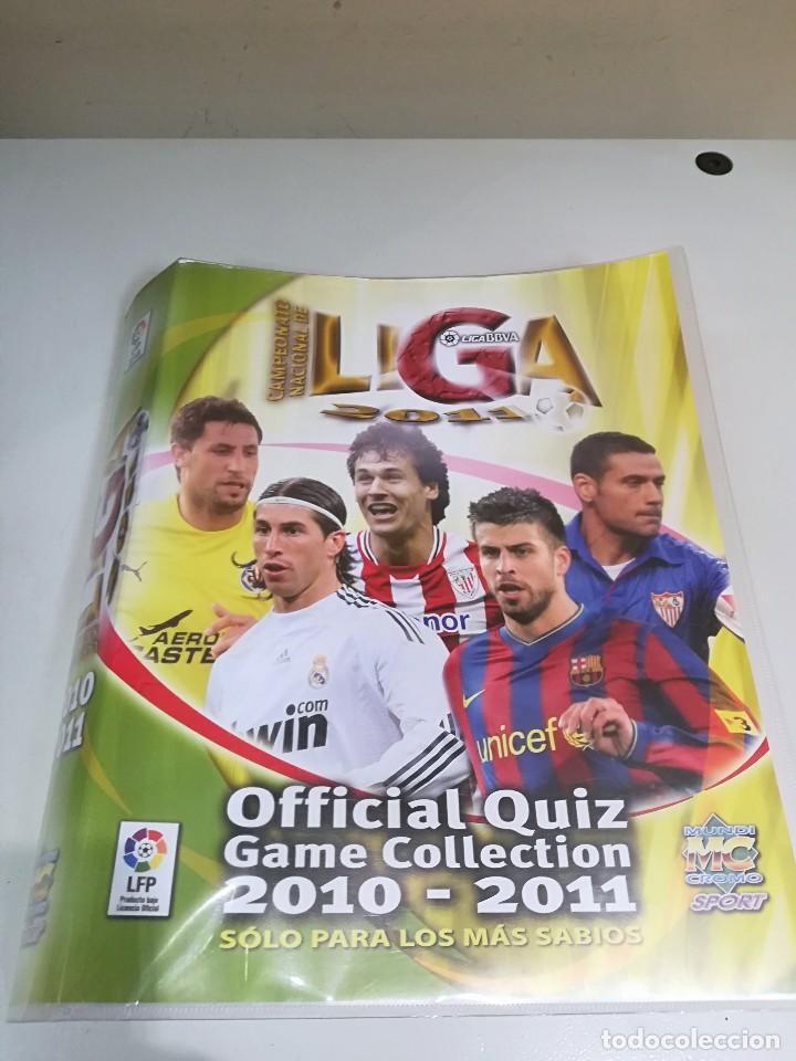 ALBUM FUTBOL MUNDICROMO LIGA 2010-2011 276 CROMOS. (Coleccionismo Deportivo - Álbumes y Cromos de Deportes - Álbumes de Fútbol Incompletos)