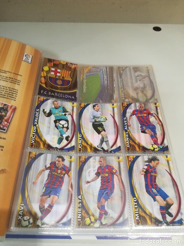 Coleccionismo deportivo: Album futbol mundicromo liga 2010-2011 276 cromos. - Foto 3 - 133686262