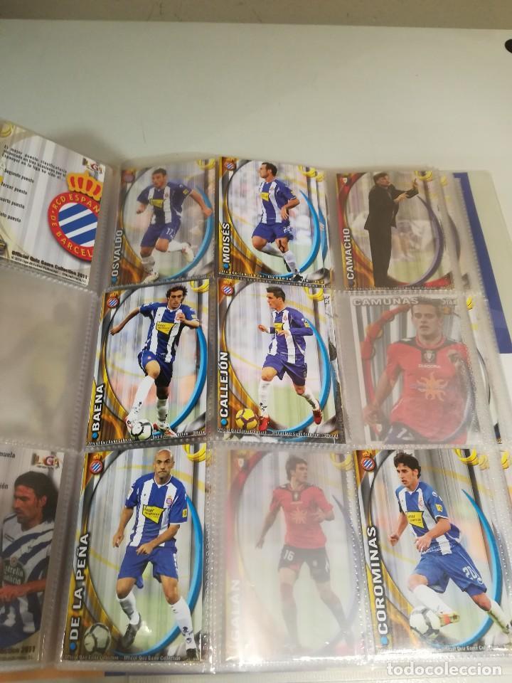 Coleccionismo deportivo: Album futbol mundicromo liga 2010-2011 276 cromos. - Foto 10 - 133686262
