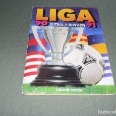 Coleccionismo deportivo: LIGA 90-91 DE ESTE MAS 76 CROMOS SUELTOS. Lote 133687930