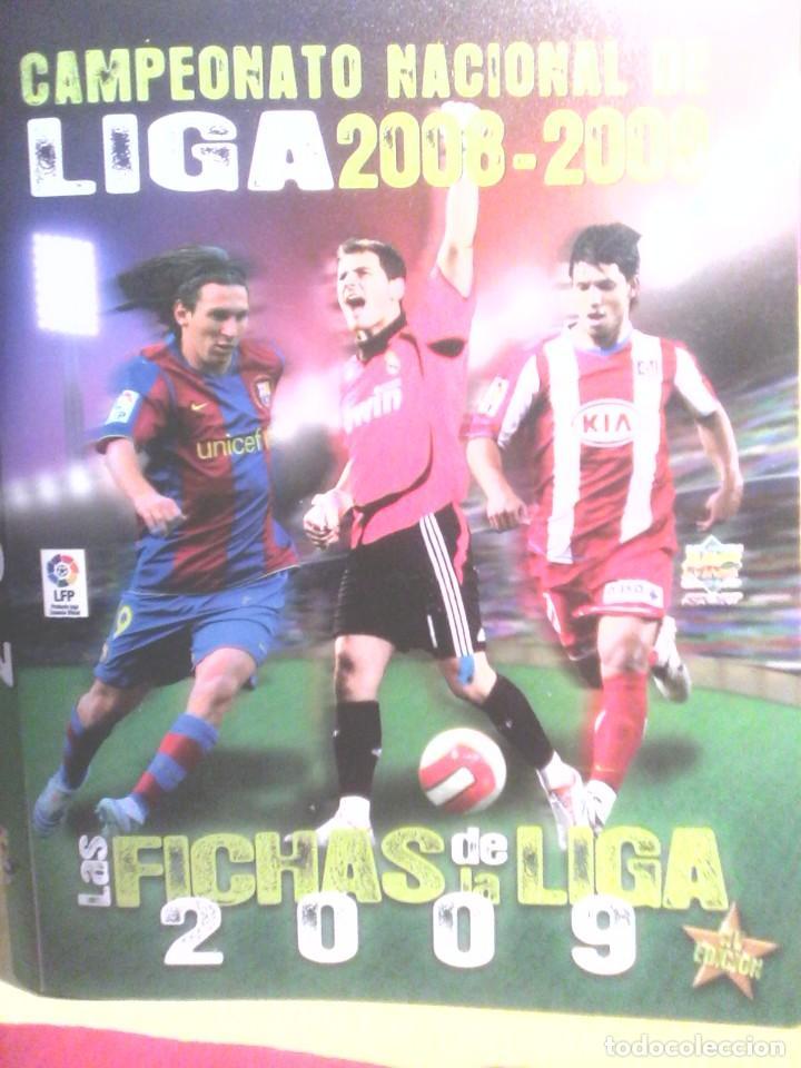ALBUM CROMOS FUTBOL - 2008 / 2009 . (Coleccionismo Deportivo - Álbumes y Cromos de Deportes - Álbumes de Fútbol Incompletos)