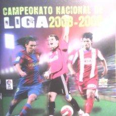 Coleccionismo deportivo: ALBUM CROMOS FUTBOL - 2008 / 2009 .. Lote 133699610