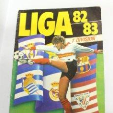 Coleccionismo deportivo: ALBUM DE CROMOS FUTBOL LIGA 82 83 ESTE - VACÍO CASI PLANCHA. Lote 133835810