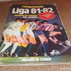 Coleccionismo deportivo: ALBUM CAMPEONATO DE LIGA 81-82,FUTBOL,EDICIONES ESTE,CON 313 CROMOS. Lote 133871026