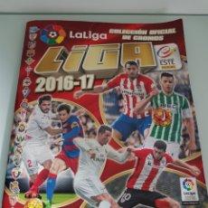 Coleccionismo deportivo: ÁLBUM LIGA 2016 2017 INCOMPLETO. Lote 134101057