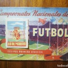 Coleccionismo deportivo: REAL MADRID - ALBUM RUIZ ROMERO 1951 CAMPEONATOS NACIONALES DE FUTBOL 50/51 1950/51 CON 24 CROMOS. Lote 134164549