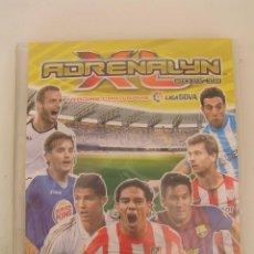 Coleccionismo deportivo: ALBUM DE CROMOS PANINI: ADRENALYN. FUTBOL: TEMPORADA 2011-2012. CON 140 CROMOS. Lote 134384542