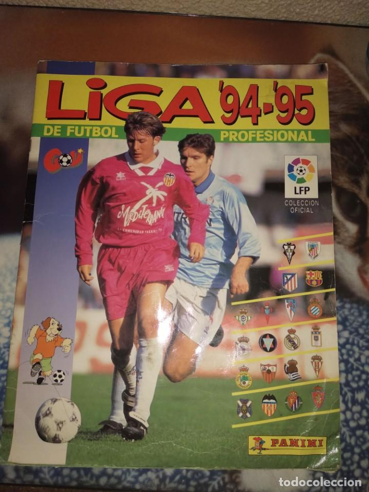 ÁLBUM COMPLETO PANINI 94-95 (LEER DESCRIPCIÓN) (Coleccionismo Deportivo - Álbumes y Cromos de Deportes - Álbumes de Fútbol Incompletos)