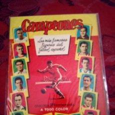 Coleccionismo deportivo: ALBUM CAMPEONES 1955 PLANCHA. Lote 134814127