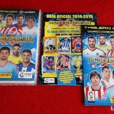 Coleccionismo deportivo: ALBUM ARCHIVADOR PLASTICO ADRENALYN XL PANINI LIGA FUTBOL 2014 2015 14 15 VACIO A ESTRENAR. Lote 134851814