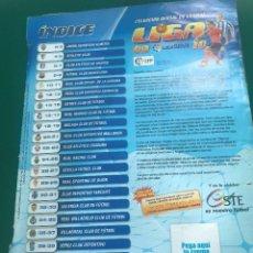 Coleccionismo deportivo: S5-ALBUM EDICIONES ESTE LIGA 2009-10 - TIENE 514 CROMOS CASI COMPLETO LE FALTAN LAS TAPAS. Lote 134852310