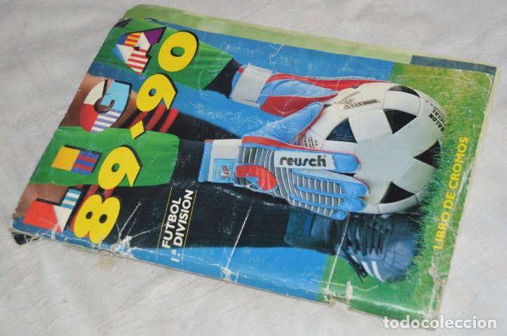 ESTE - ÁLBUM LIGA 89-90 - FUTBOL 1ª DIVISIÓN - EDICIONES ESTE - MIRA DETALLES - ENVÍO 24H (Coleccionismo Deportivo - Álbumes y Cromos de Deportes - Álbumes de Fútbol Incompletos)