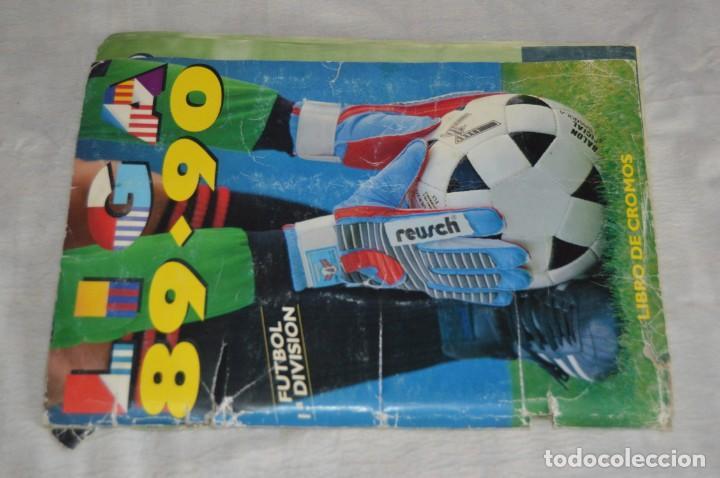 Coleccionismo deportivo: ESTE - ÁLBUM LIGA 89-90 - FUTBOL 1ª DIVISIÓN - EDICIONES ESTE - MiRA DETALLES - ENVÍO 24H - Foto 2 - 135037078
