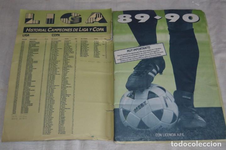 Coleccionismo deportivo: ESTE - ÁLBUM LIGA 89-90 - FUTBOL 1ª DIVISIÓN - EDICIONES ESTE - MiRA DETALLES - ENVÍO 24H - Foto 5 - 135037078