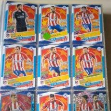 Coleccionismo deportivo: LOTE DE 307 CARDS CHAMPIONS LEAGUE TOPPS MATCH ATTAK 2016-2017 (16-17) NUEVOS DE SOBRE.. Lote 135239206
