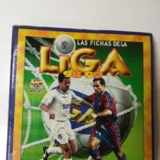 Coleccionismo deportivo: ÁLBUM LAS FICHAS DE LA LIGA 98-99 MUNDICROMO 529 FICHAS. Lote 135628038