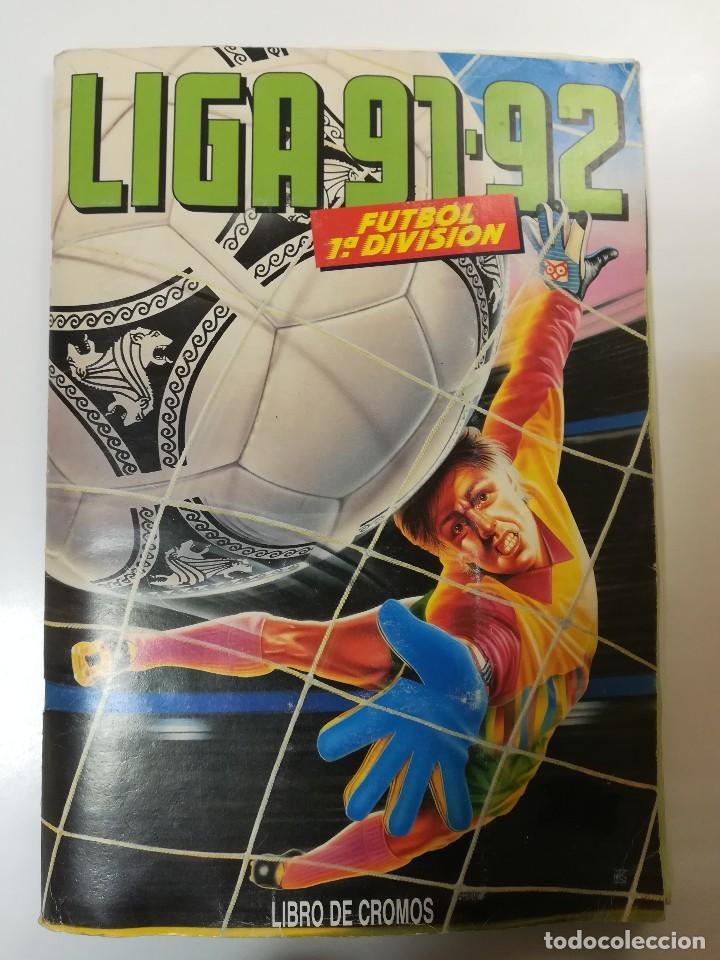 ESTE 91/92 1991/1992, 378 CROMOS CASI COMPLETO (Coleccionismo Deportivo - Álbumes y Cromos de Deportes - Álbumes de Fútbol Incompletos)