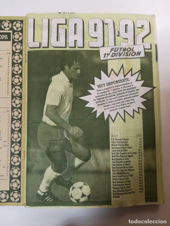 Coleccionismo deportivo: ESTE 91/92 1991/1992, 378 CROMOS casi completo - Foto 2 - 135628234