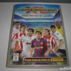 Coleccionismo deportivo: ADRENALYN 2009 - 2010 CASI COMPLETO (FALTA SOLO 1 CARD) - TIENE TODAS LAS BRILLANTINAS DOBLES (60) -. Lote 135720131