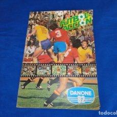 Coleccionismo deportivo: DANONE 82 - ALBUM DE FUTBOL EN ACCION 82, AÑO 1981 VER FOTOS Y DESCRIPCION! SM. Lote 135909246