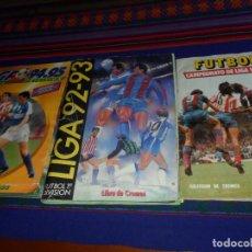 Coleccionismo deportivo: ESTE CAMPEONATO LIGA 1976 1977 INCOMPLETO FALTAN FICHAJES 1992 1993, 1994 1995. REGALO 96 97.. Lote 135940626