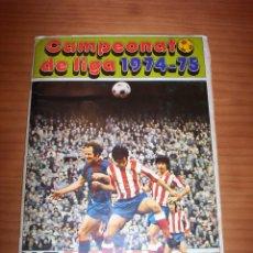 Coleccionismo deportivo: CAMPEONATO DE LIGA 1974-75 - DISGRA . Lote 136054570