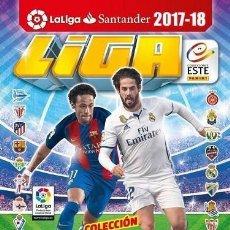 Coleccionismo deportivo: 1 ALBUM VACIO EDICIONES ESTE TEMPORADA 2017-2018. Lote 136134670