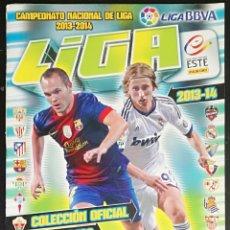 Coleccionismo deportivo: ALBUM DE FUTBOL 2013-14, ESTE - CONTIENE 57 CROMOS. Lote 136163082