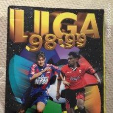 Coleccionismo deportivo: ÁLBUM FUTBOL LIGA 98 99 1998 1999 EDICIONES ESTE COLECCION 485 CROMOS - PAGINAS SUPER POBLADAS . Lote 136317326