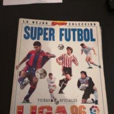 Coleccionismo deportivo: SUPER FÚTBOL LIGA 96. Lote 136319798