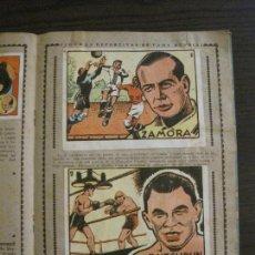 Coleccionismo deportivo: CROMOS CULTURA ALBUM SEGUNDO - CROMOS DE FUTBOL Y DEPORTES ZAMORA - BRUGUERA - VER FOTOS (V-15.036). Lote 136407206