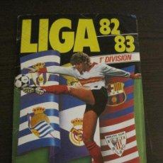 Coleccionismo deportivo: LIGA 82 83 ESTE - 1ª DIVISION - INCOMPLETO CON CROMOS DOBLES ULTIMOS FICHAJES -VER FOTOS (V-15.037). Lote 136408286